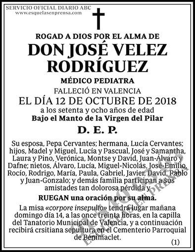 José Velez Rodríguez